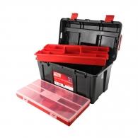Куфар за инструменти TAYG 31, с органайзер и тава, полипропилен, черен