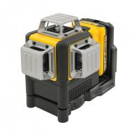 Линеен лазерен нивелир DEWALT DCE089D1G, 3 лазерни линии, точност 3mm/10m, 30м, автоматично