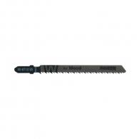 Нож за прободен трион RAIDER RD-WT101BR 2.5х100/75мм, за дървесина, HCS, T-захват, к-кт 2 броя