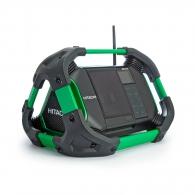 Радиоприемник акумулаторен HITACHI/HIKOKI UR18DSDL, 230V, 14.4-18V, Li-Ion, 2х1.5V-тип AA, Bluetooth, DAB/DAB+