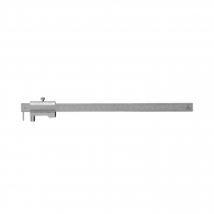 Шублер чертилка ЗИИУ Стандарт 0400 300мм, ± 0.1, стопорен винт, неръждаема стомана