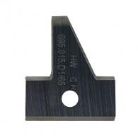 Сменяеми пластини CMT 25x29.8x2мм D1, HW, за режеща глава, к-кт 2бр