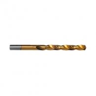 Свредло RAIDER 1.0х34/12мм, за метал, DIN338, HSS-TIN, цилиндрична опашка, ъгъл 135°