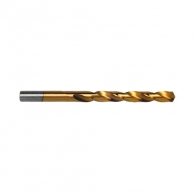 Свредло RAIDER 2.0х49/24мм, за метал, DIN338, HSS-TIN, цилиндрична опашка, ъгъл 135°