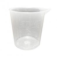 Чаша мерителна STIHL 0.100л, пластмасова, за приготвяне на горивна смес