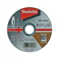 Диск карбофлексов MAKITA 115х1.0х22.23мм, за рязане на неръждаема стомана