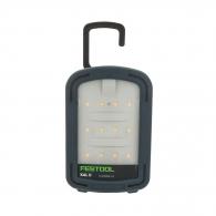Фенер акумулаторен FESTOOL SYSLITE KAL II, 12LED, 7.2V, 2.9Ah, Li-ion, работа с външни батерии 10.8 до 18V, 230V