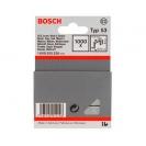 Кламери BOSCH 53/6мм 1000бр., тип 53, тънка тел, блистер  - small