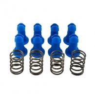 Комплект MONTOLIT 417P, 8 сини тапи и 4 пружини за серии Т2, P2, P3