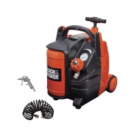 Компресор BLACK&DECKER BD 195/6-MY-T, 5l, 8bar, 180 l/min, 1.1kW, 1.5hp, 230V