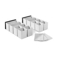 Контейнери FESTOOL Set, 60x60/120x71 пластмасови, бели