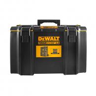 Куфар за инструменти DEWALT DS400, с една тава, полипропилен, черен, IP65