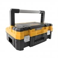 Куфар за инструменти DEWALT TSTAK I, с органайзер, пластмасов, черен/жълт
