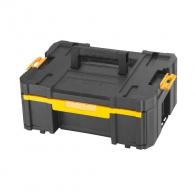 Куфар за инструменти DEWALT TSTAK III, с 4-кутиики, пластмаса, черен
