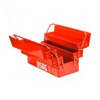 Куфар за инструменти USAG 646/5V 495x210x325мм, метален, 2 дръжка, 5 отделения