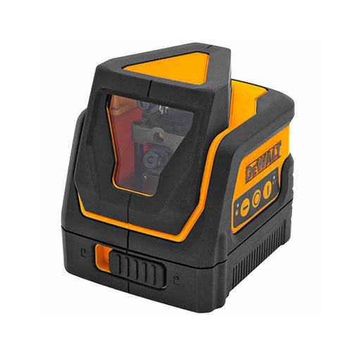 Линеен лазерен нивелир DEWALT DW0811, 2 лазерни линии, точност 4mm/10m, 30м, автоматично