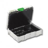 Органайзер FESTOOL SYSTAINER T-LOC SYS 1 UNI, пластмасов, с универсална вложка с прегради за малки части