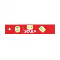 Пластмасов нивелир SOLA PT5 20cm, с три либели и отчитане на ъгъл 45градуса