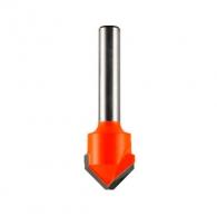 Фрезер за алуминий CMT D=18мм L=60мм I=7.4мм A=90° S=8мм Z=2, HW, RH, V-канален
