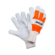 Ръкавици STIHL STANDARD L, щавена телешка кожа, памучна подплата и плетен маншет, размер L