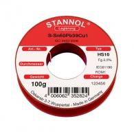Тинол STANNOL ф1.0мм/100гр, SN 60%, PB 40%, FLUX 2%