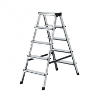 Алуминиевa стълба KRAUSE Dopplo 2х5, 850мм(на стълбата), двустранна, за домашна употреба, 150г.