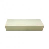 Брус за остриета TYROLIT 150x50x25мм, бял, 90B, 89A, FEPA F 1200, за заточване на сърпови, коси и ножове