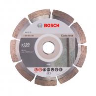 Диск диамантен BOSCH BPE ECO 150х2.0х22.23мм, за бетон, тухли, керемиди и строителни материали, сухо рязане