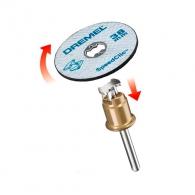 Диск карбофлексов DREMEL EZ SpeedClic 38x1.12мм, за рязане на метал, с накрайник