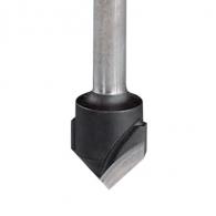 Фрезер за алуминий FESTOOL D=18мм L=59мм I=8мм S=8мм Z=2, HW, V-канален, 90 °