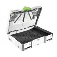 Куфар за инструменти FESTOOL SYS-OF D8/D12, пластмаса, бял