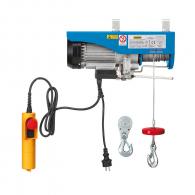Лебедка подемна електрическа FERVI 0600, 750W, 200/400кг, 18м/3.8мм - въже