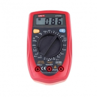 Мултиметър дигитален UNI-T UT33C, АC: 200/500 V ± 1.2-10.0%, DC: 0.2-500V ±0.5-2.0%