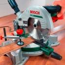 Настолен потапящ циркуляр BOSCH PCM 8, 1200W, 4800об/мин, ф216х30мм - small, 52740