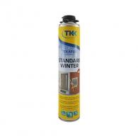 Полиуретанова пяна TKK Tekapur Standard Best Seller, 750мл, пистолетна, зимна (от -10°C до +35°C)