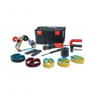 Шлайф лентов и четков FLEX SE 14-3 INOX Set, 1400W, 1000-3500об/мин, 760х40мм, ф100мм