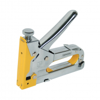 Такер механичен TOPMASTER 4-14/10-14мм, за кламери, кабели и гвоздей, метален хромиран корпус