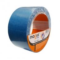 Тиксо облепващо MAGUS 50мм/25м, син, за външно приложение, при температури до 120°C, UV 30дни