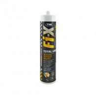 Универсално лепило TKK Tekafix TOTAL GRIP, 290мл, бял