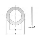 Втулка CMT 32х30х2.0мм, преходна за дискове за дърво - small, 95668