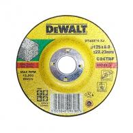 Диск карбофлексов DEWALT 125х6.0х22.23мм, за шлайфане на неметал