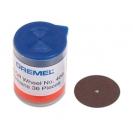 Диск карбофлексов DREMEL 24x1.12мм, за рязане на метал, комплект 30бр - small