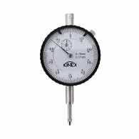Индикатор часовник KINEX 0-10мм, D56мм, точност: 0.01мм, неръждаема стомана