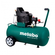 Компресор METABO BASIC 250-50 W, 50l, 8bar, 200 l/min, 1.5kW, 2.0hp, 230V