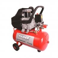 Компресор RAIDER RD-AC04Z, 24l, 8bar, 195 l/min, 1.5kW, 2.0hp, 230V