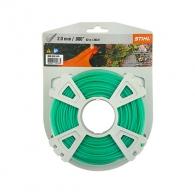 Корда STIHL 2.0мм/62м, кръгла, безшумна, дължина 62м, зелена