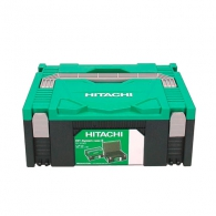 Куфар пластмасов HITACHI/HIKOKI HSC II, пластмаса, черен, за WH18DBDL2 и DV18DBXL