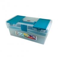 Куфар за инструменти TAYG 12, с една тава, полипропилен, прозрзчен