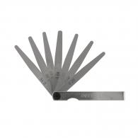 Луфтомер KINEX 0.02-0.2мм/L=100мм 10части, неръждаема стомана