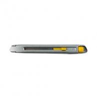 Макетен нож STANLEY SM 9x135мм, метален корпус, к-кт с резец чупещ се на 13 елемента